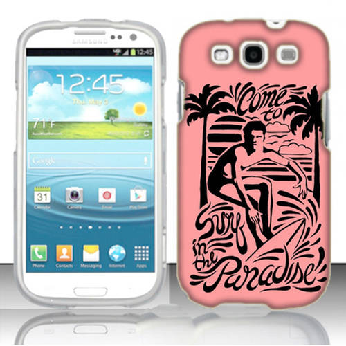 Mundaze Paradise Surf Phone Case Cover for Samsung Galaxy S3