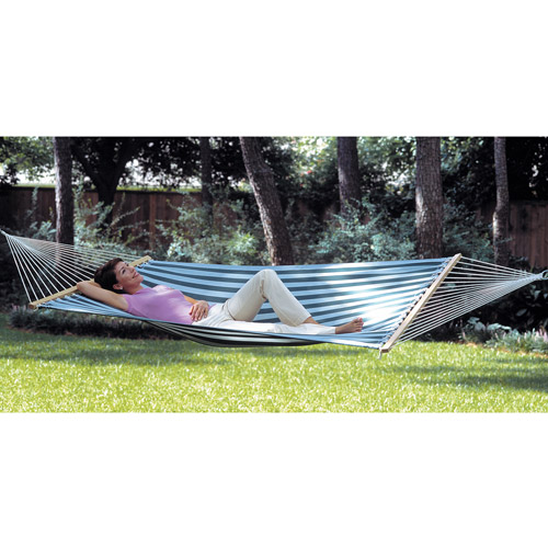 Texsport Surfside Hammock, Green and White