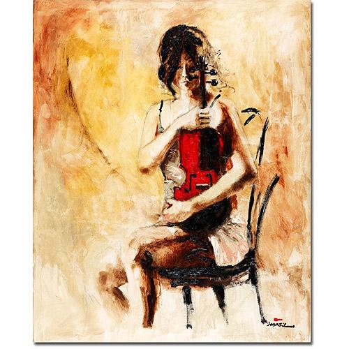 "Trademark Art ""Divine Melody"" Canvas Art by Joarez"
