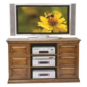 Kingsley Entertainment Center in Burnished Walnut