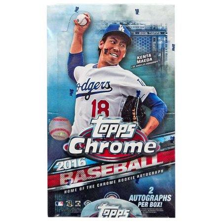 Mlb 2016 Bowman Chrome Baseball Cards Hobby Box