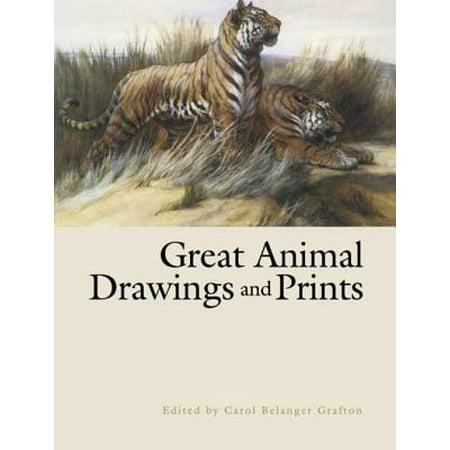 Great Animal Drawings and Prints - eBook Carol Wilson Fine Arts