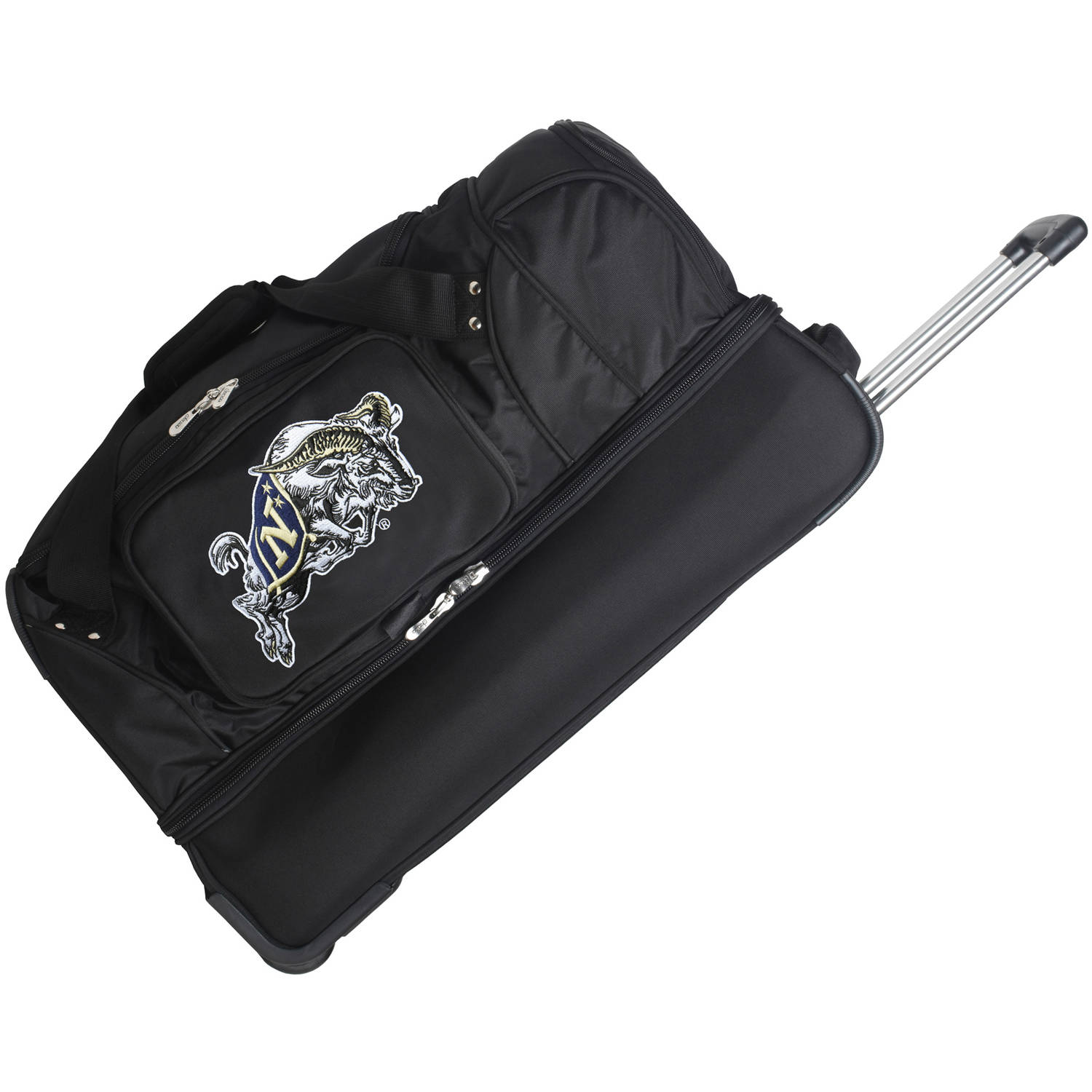 "Denco NCAA 27"" Rolling Drop Bottom Duffel, US Naval Academy"