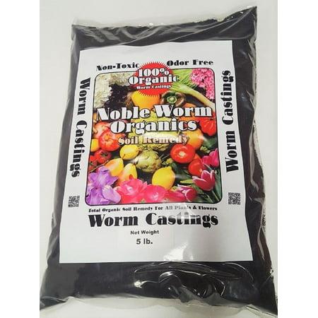 Noble Worm Organics 5 lb. Organic Worm Casting Soil