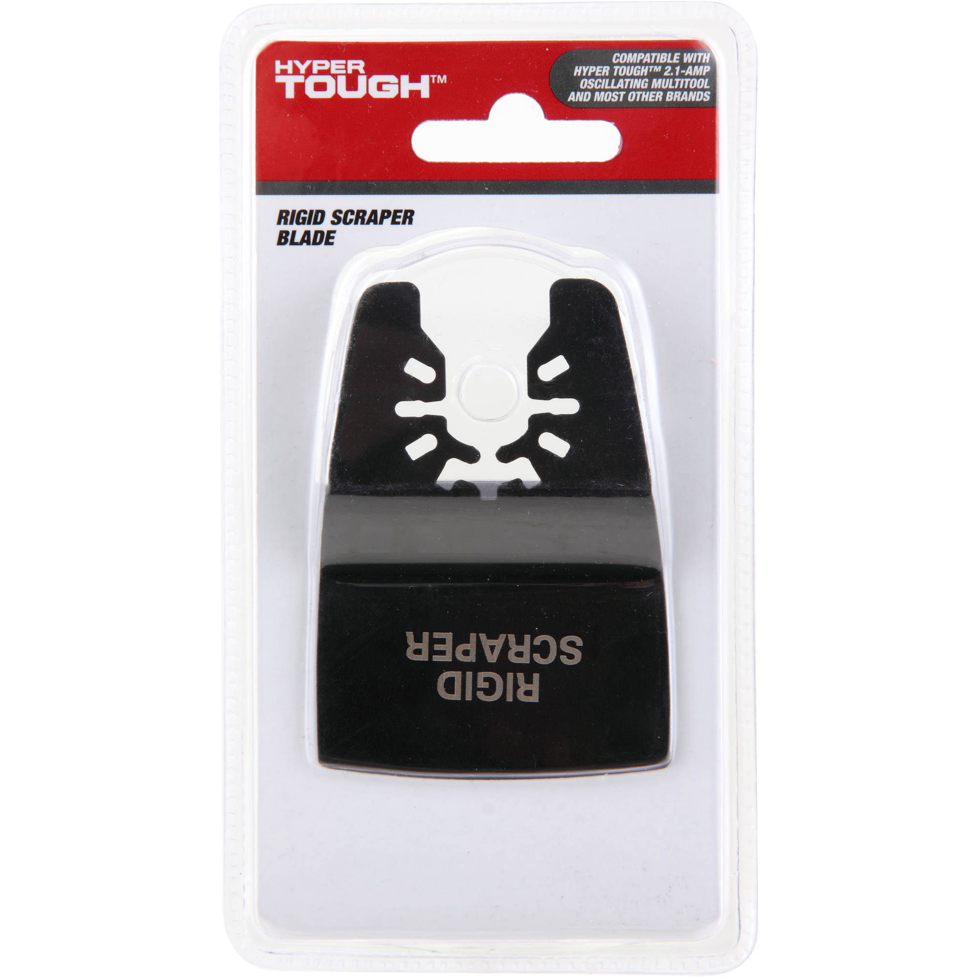 "Hyper Tough 2"" Rigid Scraper Blade, Black"