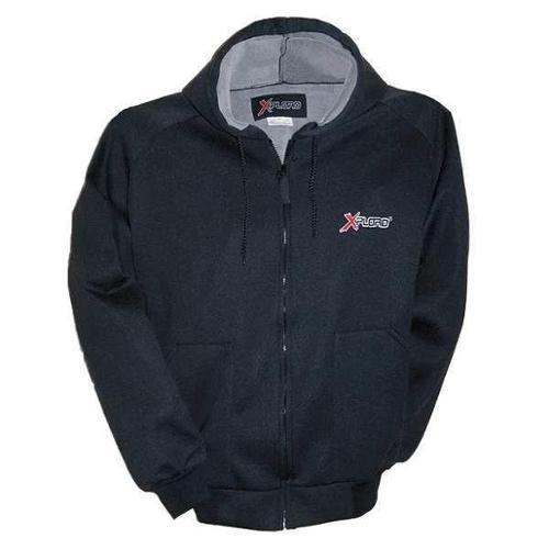 XPLORO 37084 Hooded Jacket, Black, M