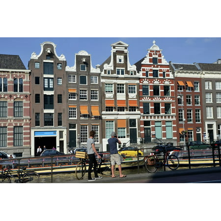 LAMINATED POSTER Amsterdam Hiking Walk Europe Vacation Channels Poster Print 24 x 36](Halloween Walk Amsterdam)