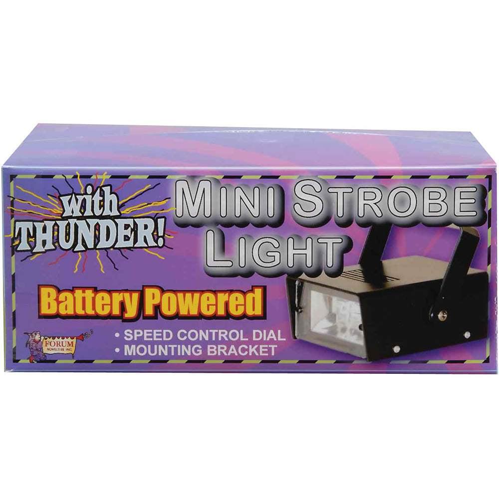 Mini LED Strobe Light w/ Sound