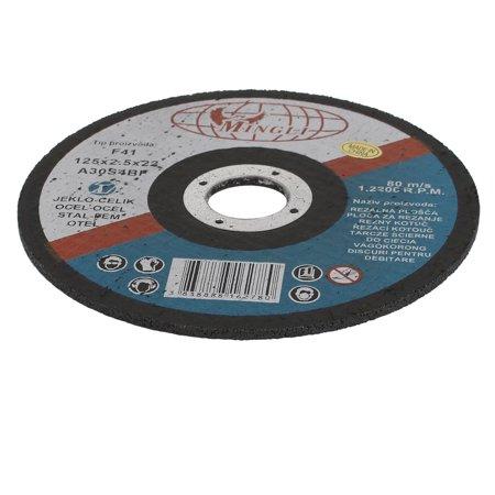 Black & Decker Grinding Wheel (125mmx2.5mmx22mm Cutting Wheel Grinding Cut Off Disc Black)