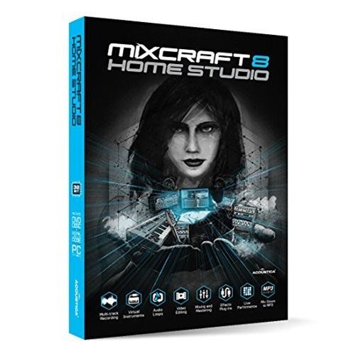 Acoustica Mixcraft 8 Home Studio - Windows