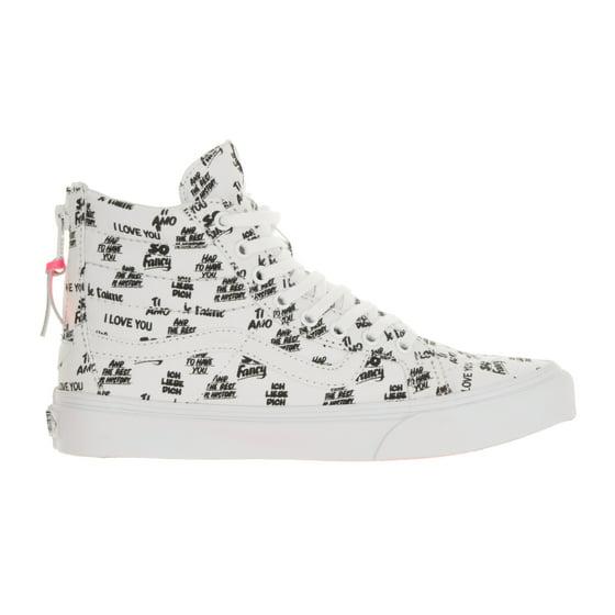 5846090089 Vans - Vans Unisex Sk8-Hi Slim Zip (Baron Von Fancy) Skate Shoe ...
