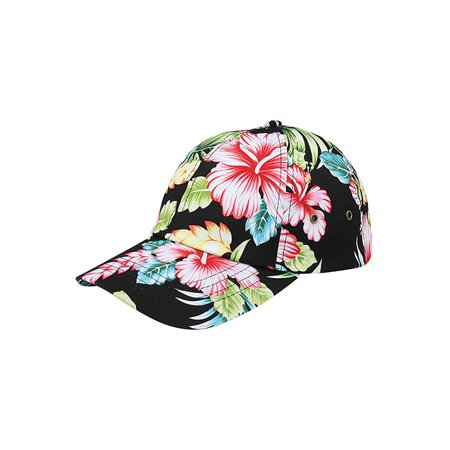 Top Headwear Low Profile Unstructured Floral Cap