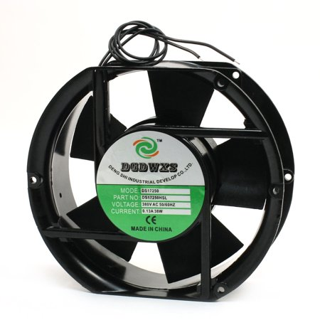 170mm x 150mm Metal Frame Axial Cooling Cooler Fan 380V 0 13A 38W