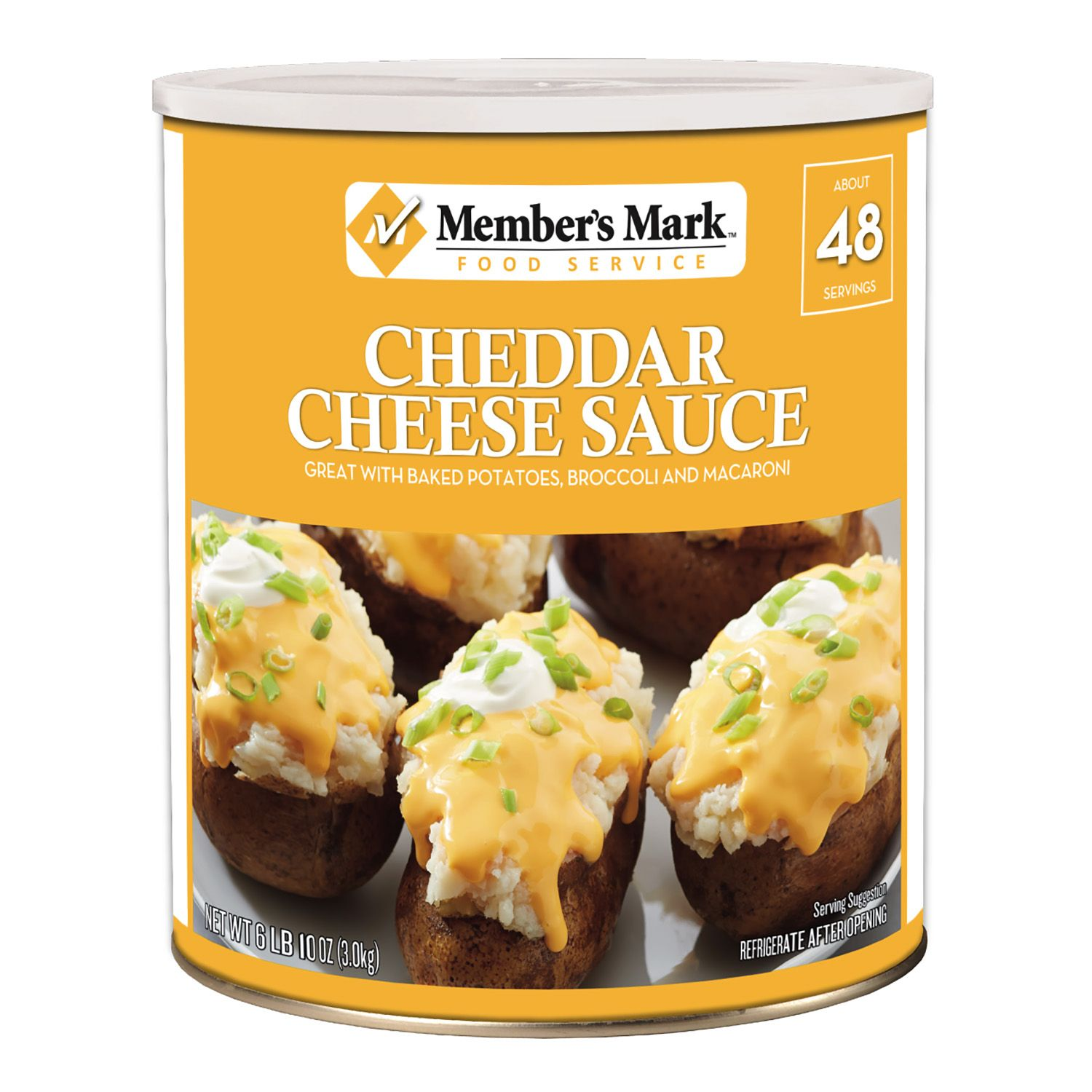Daily Chef Cheddar Cheese (6.62 lb. can) by WAL-MART STORES INC