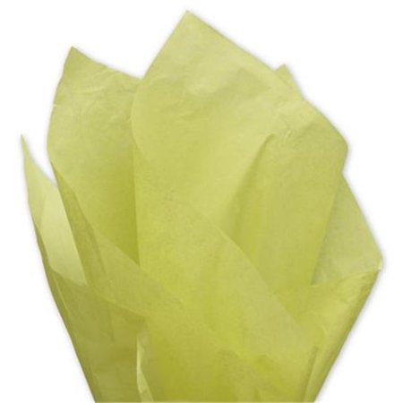 Deluxe Small Business Sales 11-01-87 20 x 30 in. Solid Tissue Paper, Pistachio