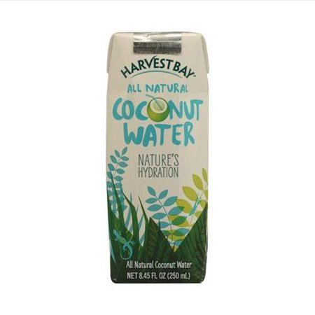 Harvest Bay All Natural Coconut Water   8 5 Fl Oz   Case Of 12