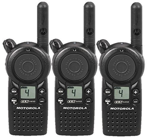 Motorola CLS1410 3 Pack Radio Bundle
