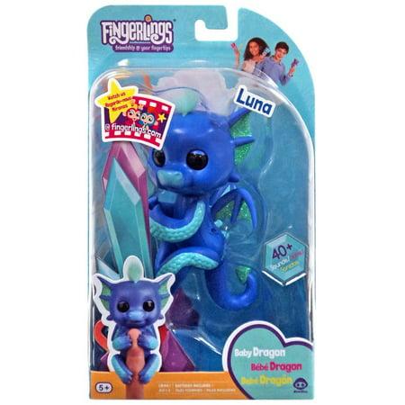 Toddler Dragon (Fingerlings Baby Dragon Luna Figure)