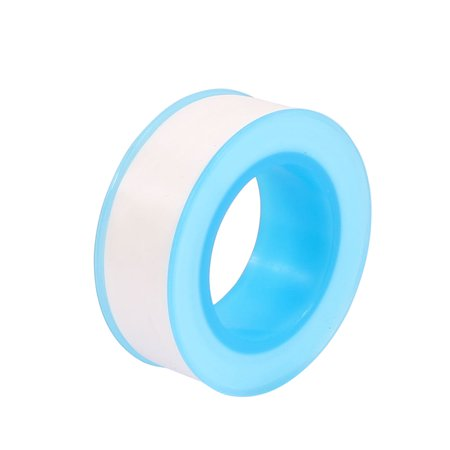 4 Pcs Water Pipe 16mm Width PTFE Sealant Thread Seal Tape Roll 20 Meters Long - image 1 of 2