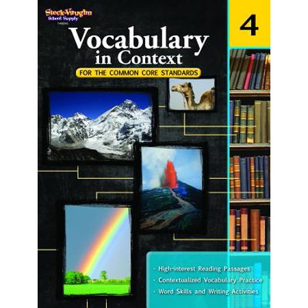 Vocabulary in Context for the Common Core Standards : Reproducible Grade