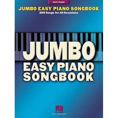 Jumbo Easy Piano Songbook : 200 Songs for All Occasions](Easy Halloween Song Piano)