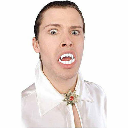 Vampire Teeth Adult Halloween Accessory (Halloween Costumes Vampire Teeth)