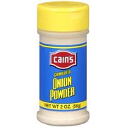 Cain's Granulated Onion Powder, 2 oz
