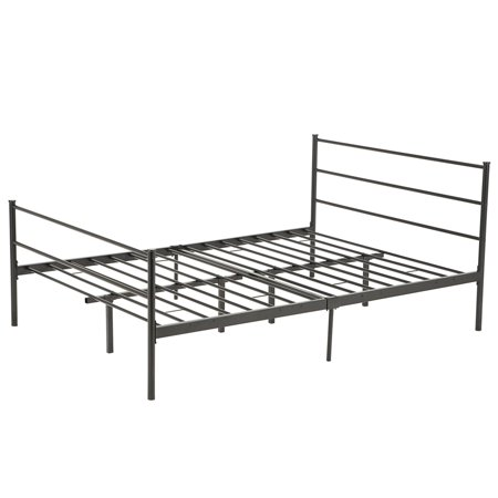 Mecor Metal Bed Frame Platform With Headboard Footboard 10 Legs ...