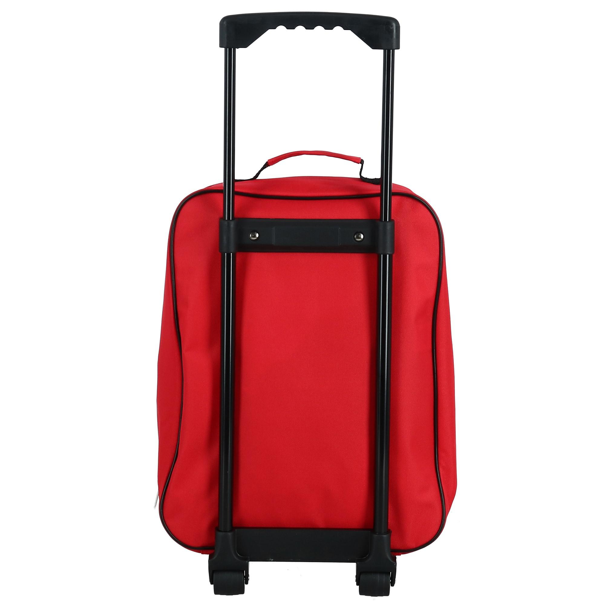 eefd088a5914 Disney Kids' Lightning McQueen and Friends Rolling Luggage