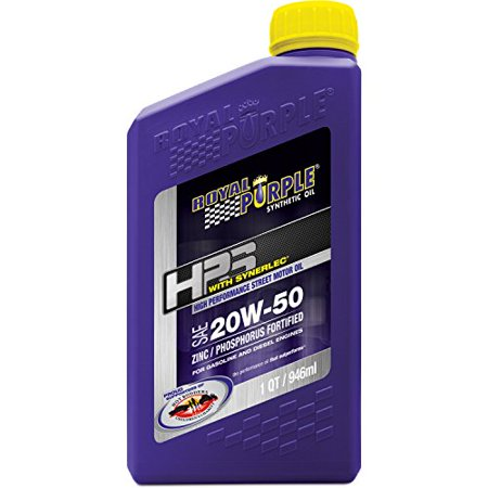 Royal Purple 31250 HPS 20W-50 High Performance Street Synthetic Motor Oil with