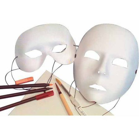 School Specialty Deluxe Cloth Wearable Full Mask (Cloth Mask)