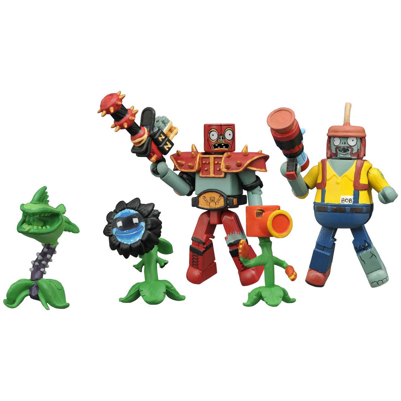 Diamond Select Toys Plants vs. Zombie Garden Warfare Minimates Series 2 Box Set