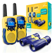 Best Voice Activated Radios - Walkie Talkies for Kids with Kids Binoculars Set Review