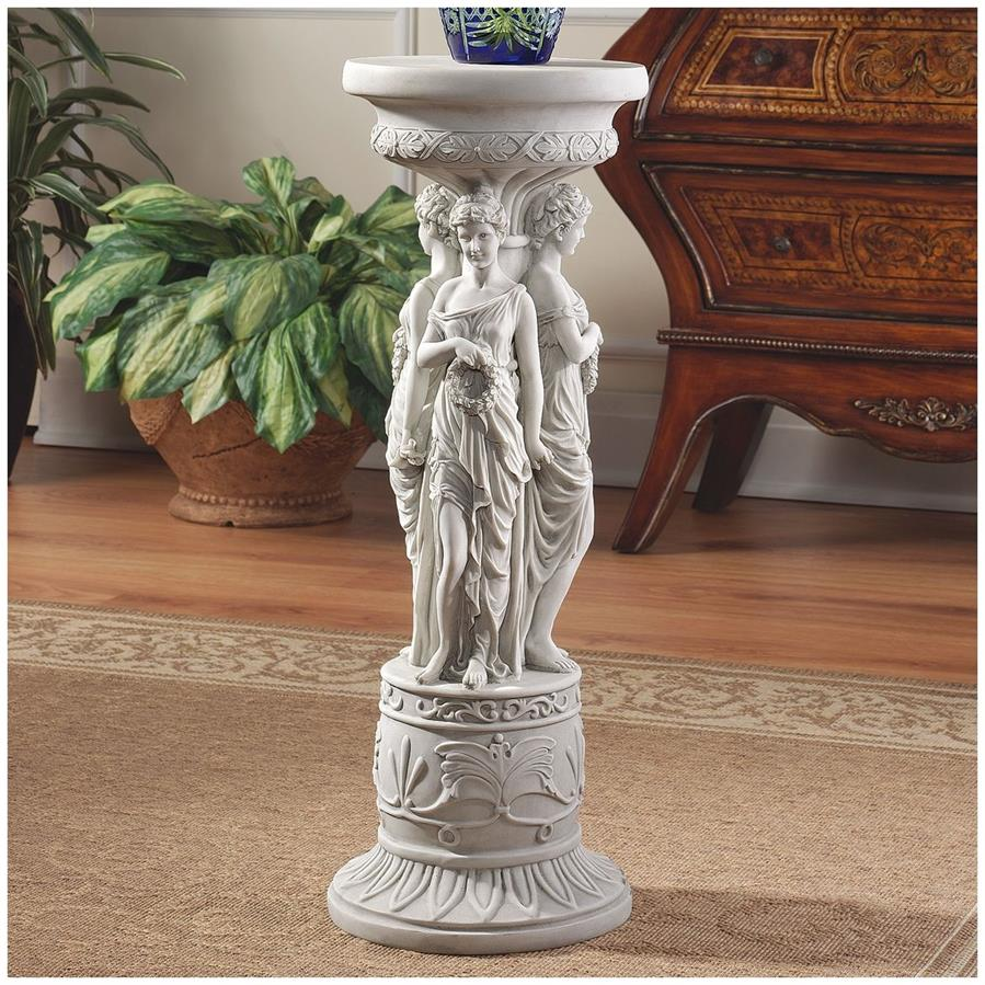Chatsworth Manor Neoclassical Sculptural Pedestal