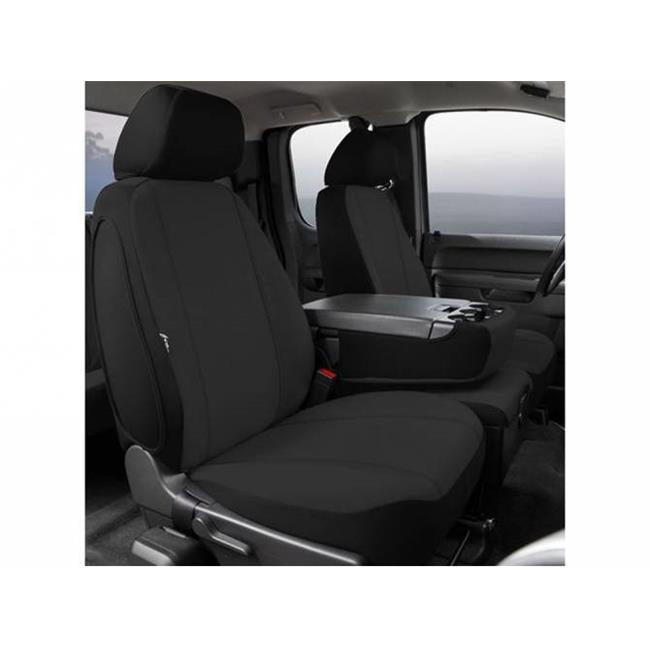 Black Custom Fit Front Seat Cover