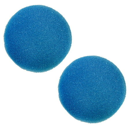HQRP 2-Pack Blue Coarse Filter Media Pad for Eheim Classic 2217 / 600 Canister Filter + HQRP Coaster