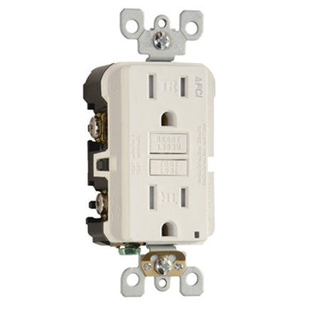 Pass & Seymour - AF15TRW - 15 Amp - AFCI - Arc Fault Circuit Interrupter -