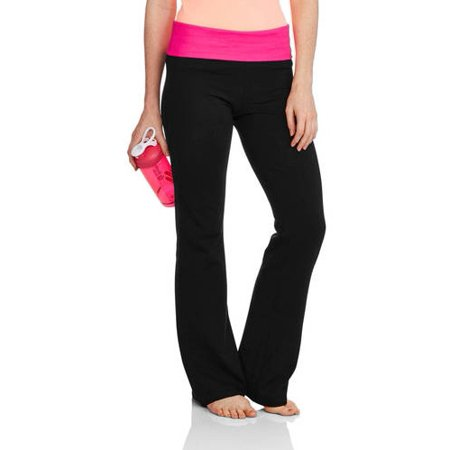d1f4c378321af No Boundaries - No Boundaries Juniors' Flare Yoga Pants (Prints & Solids) -  Walmart.com
