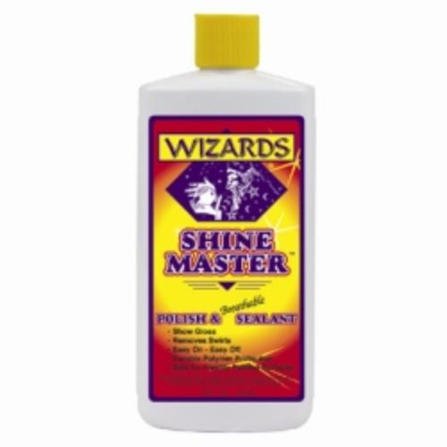 Wizard Products 11033 Shine Master Polish And Breathable Sealant, 16 Oz Bottle, Easy-on, Easy-off, No Streaks Or Smears