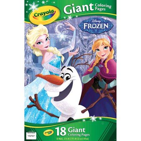 Crayola Giant Disney Coloring Book 1275X19 7 16 18pg Frozen