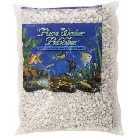 Aquarium Gravel, 2-Pound, Snow White, Pure Water Pebbles Premium Freshwater Substrates By Pure Water (Best Substrate For Planted Freshwater Aquarium)