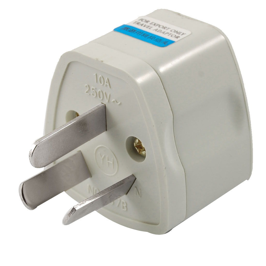 Universal Au 3 Pin Plug To Us Uk Eu Travel Ac Adapter