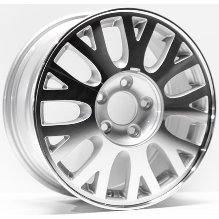 7 Spoke Silver Machined (2003-2005 Ford Crown Victoria Replacement Wheel 16