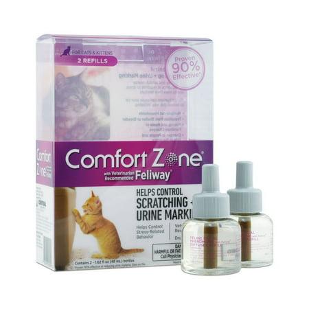 Comfort Zone Feliway Diffuser Refills for Cat - Feliway Diffuser Refill