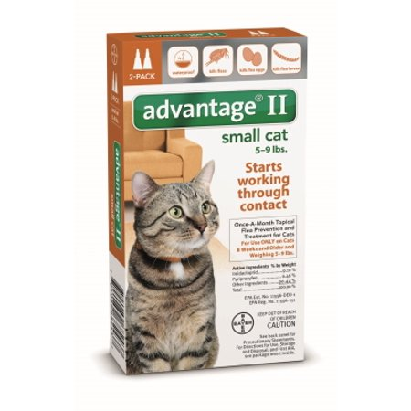 Advantage Flea Control For Cats Walmart