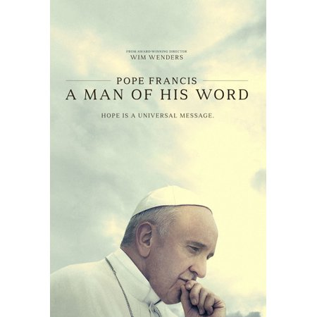 Pope Francis: A Man Of His Word (DVD) - A Words For Halloween