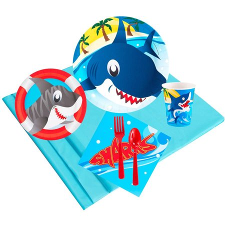 Sharks 24-Guest Party Pack](Sharks Party Supplies)