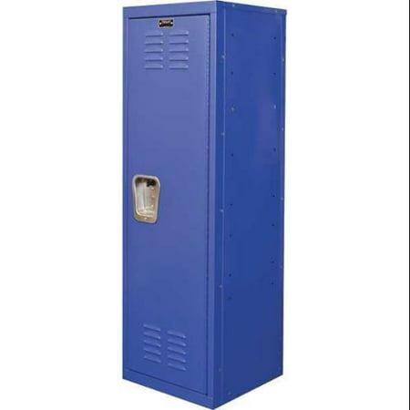HALLOWELL HKL151548-1GS Kid Locker, Blue, 15in W x 15in D x 48in H ()