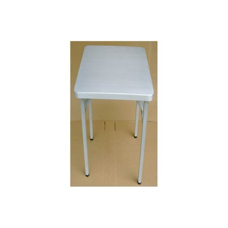 Image of Brushed Aluminum Folding Table