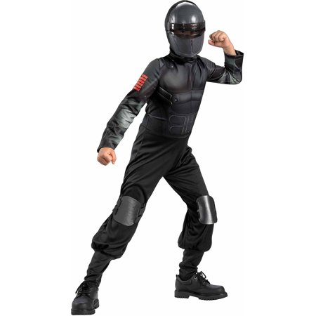 Snake Eyes Muscle Child Halloween Costume (Halloween Eye Safety)